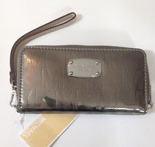 Michael Kors Electronics Multi Function Nickel Silver Purse Wallet RRP £105
