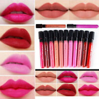 New Lip Gloss Makeup Lip Matte Lipstick Waterproof Liquid Super Long Lasting