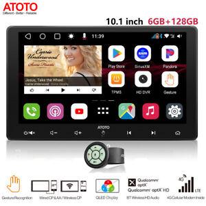 "ATOTO 10.1"" Multimedia Car Stereo Receiver w/ 2xBT,Wireless Phone Link-6GB+128GB"