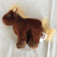 Ganz Webkinz Horse (Brown) HS103 Stuffed Animal Plush Toy Lil Kinz