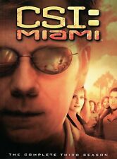 CSI: MIAMI ~ Partial DVD Set ~ Third 3rd Season Three 3  ~ 6 out of 7 Discs