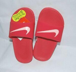 Nike Kawa Slide OR Adjust Sandals (GS/PS) Kids New Sandals Various sizes & color