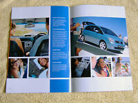 Vauxhall Meriva 2004 Models No2 inc Design, Enjoy, Life, Expression