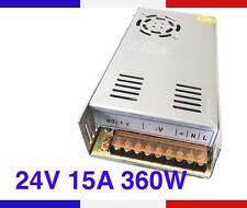 Alimentation à Découpage 24V 15A 360W Ventilé Reprap Imprimante 3D Fraiseuse CNC