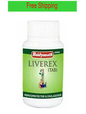 6 X Baidyanath Herbal Liverex 100 Tablets For Liver Free Shipping From India
