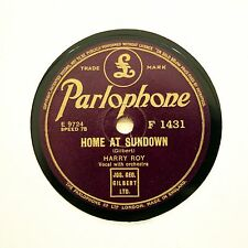 "HARRY ROY ""To Mother With Love / Home At Sundown"" (N-) PARLOPHONE F-1431 [78]"
