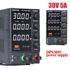 Regelbares DC Labornetzgerät 0-30V/60V 0-5A/10A Netzteil Netzgerät regelbar USB