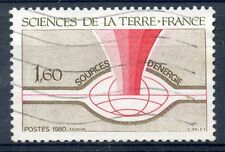 STAMP / TIMBRE FRANCE OBLITERE N° 2093  SCIENCE DE LA TERRE
