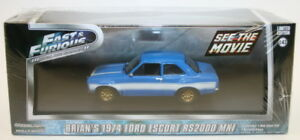 Greenlight 1/43 Scale Model Fast & Furious 86222 - 1974 Ford Escort RS2000 MK1