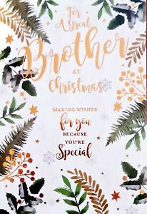For a Great Brother Christmas Card