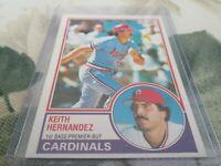 1983 OPC / 262 KEITH HERNANDEZ   ST-LOUIS CARDINALS