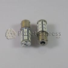 2 x Bombillas 18 LED SMD ROSA 5050 PY21W BAU15S Coche Intermitente Bombilla 12V