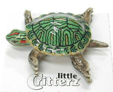 little Critterz Miniature- Red Eared Slider Turtle - LC319 (Buy 5 get 6th free!)