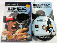 Red Dead Revolver PS2 Playstation 2 MINT DISC