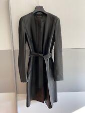 Massimo Dutti Leder-Kurzmantel schwarz, Größe S UNGETRAGEN