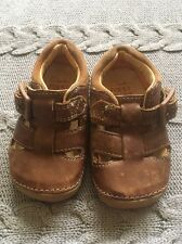 Clarks First Shoes 2.5 Toddler Brown Leather.