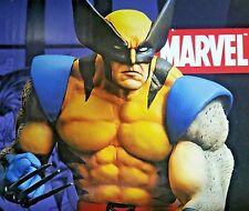 Marvel Diamond Select/DF Jim Lee'05 WOLVERINE on Skull Logan Figure Statue X-Men