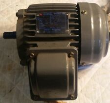 NEW WESTINGHOUSE TECO 1/2 HP, 1130 RPM, 3PH INDUCTION MOTOR, 230/460 VOLT