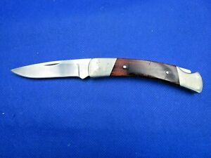 VINTAGE PRE-LOVED Buck Knives 501 Squire Folding Knife with Rosewood Handle USA