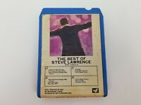 Steve Lawrence 8 Track Tape The Best of Steve Lawrence GRT Music FREE SHIPPING
