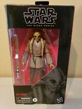 Star Wars Black Series 6 inch Kit Fisto #112 Figure DAMAGED BOX