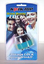 Kwik Top Drink Protector Bottle Combination Lock