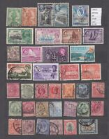 LOT STAMPS BRITISH COLONIES   USED (L43623)