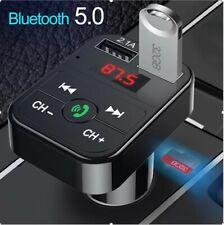 NEU* Bluetooth KFZ  FM Transmitter Auto MP3 Player USB SD AUX Freisprechanlage