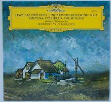Liszt/Smetana, Les Préludes/Die Moldau, Karajan [DGG 139 037]