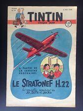 Fascicule périodique N°19 1948 Journal Tintin Couverture Hergé  TBE