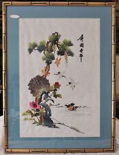 Original Hand Stitched Japanese Embroidery