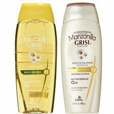Grisi Manzanilla (Chamomille) Shampoo & Conditioner Set 400ml
