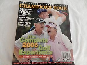2006 PGA Champions Tour Official Annual! EXCELLENT! ONLY COPY ON eBAY!!
