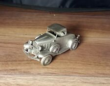 1932 CHEVROLET SPORT ROADSTER - DANBURY MINT PEWTER CAR COLLECTIBLES