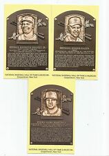 2015 HALL of FAME hof PLAQUE card PEDRO MARTINEZ cancelled RED SOX team SPANISH