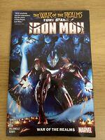 Marvel Graphic Novel - Tony Stark: Iron Man Vol. 3 - War Of Realms - Ex Library