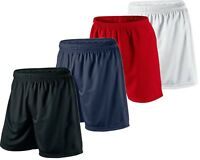 Kids Premium Football Shorts Junior Boys Girls PE Running Gym Sports Fitness