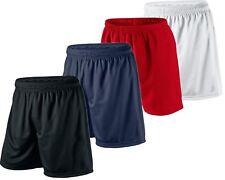 Kids Premium Football Shorts Junior Boys Girls PE Running Gym Sports Fitness