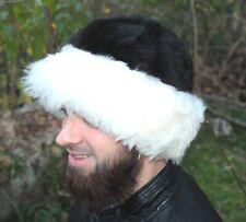Mongolian warm hat made from natural materials sheepskin men/women