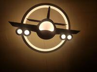Tolle Flugzeug Jugendzimmer Lampe