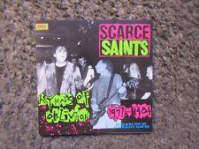 """THE SAINTS """"SCARCE SAINTS HYMNS OF OBLIVION 1977-1984"""" 1989 RAVEN RARE TRX.NM!"""