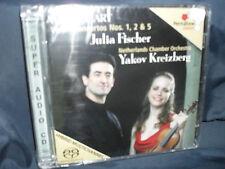 Mozart - Violin Concertos Nos. 1, 2 & 5 -Fischer / Netherlands Chamber Orchestra