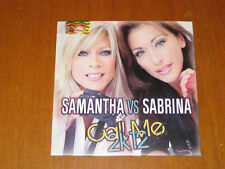 SAMANTHA VS SABRINA CALL ME 2K12 (SIGILLATO) X-Energy Records RARO