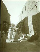 ALGÉRIE Sidi Okba Maghreb c1900, Photo Stereo Vintage Plaque Verre VR8L1
