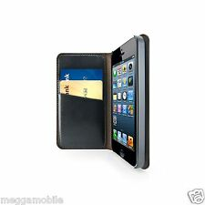 iLuv iPhone 5 or 5s Premium 100% Genuine Real Leather Wallet Case - RRP $39.99