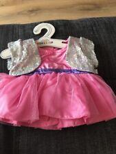 BUILD A BEAR Pink Silver 2FR Dress