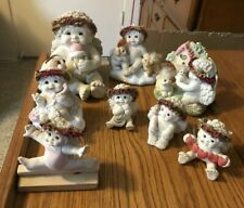 Dreamsicles Collectible Lot of 10 Cherub Angels of all different variety Cute