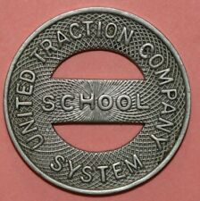 Albany New York United Traction Company 23mm -Transit Token