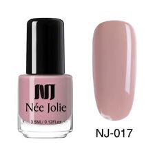 NEE JOLIE Pop Pure 50 Colors Nail Polish Christmas Winter Manicure Varnish DIY