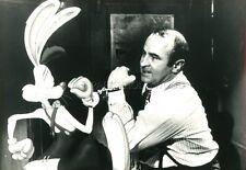 BOB HOSKINS  QUI VEUT LA PEAU DE ROGER RABBIT 1988 VINTAGE PHOTO